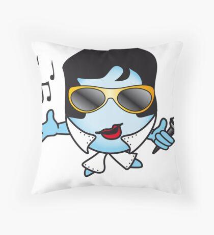 Elvis Ball Throw Pillow