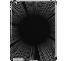 SCREEN TONE- Black flash iPad Case/Skin