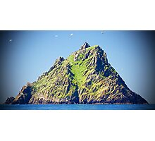approach to skellig island Photographic Print