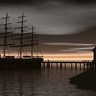 Sitting at the Dock of the Bay by Walter Colvin