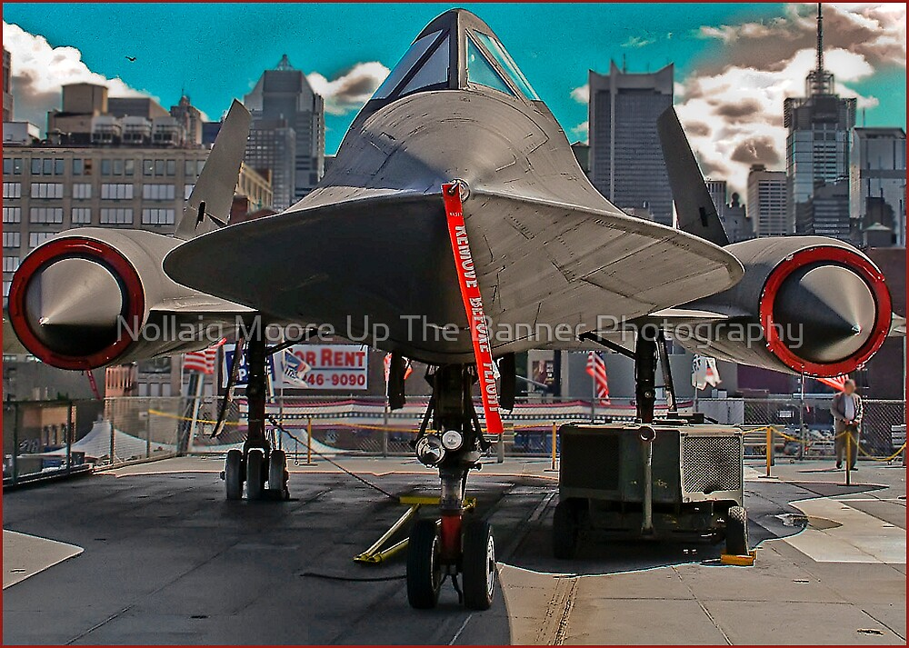 sr-71 , what a beauty by Noel Moore Up The Banner Photography