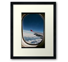 Up in the Air Framed Print