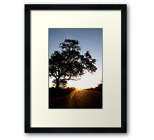 This is sunset boulevard... Framed Print