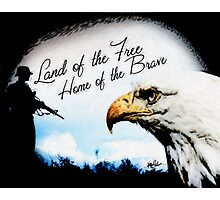 Land of the Free Photographic Print