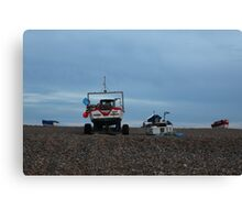 Cley-Next-The-Sea Sunset Canvas Print