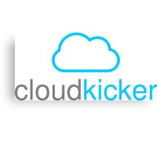Cloud Kicker - Bluey Canvas Print