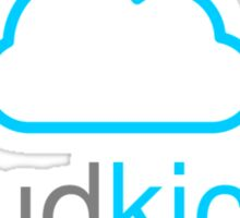Cloud Kicker - Bluey Sticker