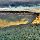 Shadows &amp; Light  # 2 - Blue Mountains World Heritage Area - The HDR Experience by Philip Johnson