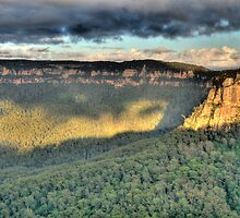 Shadows & Light  # 2 - Blue Mountains World Heritage Area - The HDR Experience by Philip Johnson