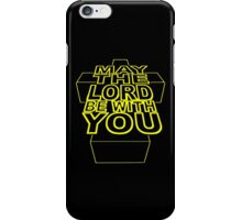 MAY THE LORD BE WITH YOU iPhone Case/Skin