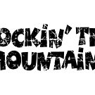 Rockin' the Mountains Vintage Black by theshirtshops