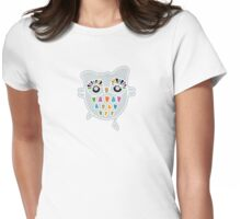 Little Owl - I think i can fly! Womens Fitted T-Shirt