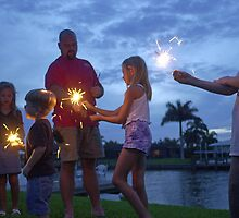 Sparklers by Larry  Grayam