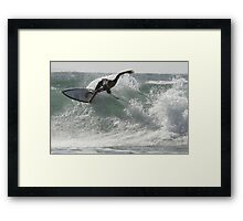 Surfing Currarong #3 Framed Print