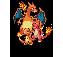 Charmander Evolutions Photographic Print