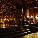 Great Hall Entrance - Starved Rock Lodge by Adam Bykowski