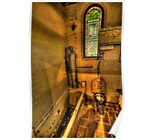 Old Style Convenience - Turkish Baths, Wynstay Estate,- The HDR Experience Poster