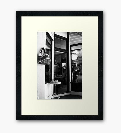 Shopfront - Olinda Framed Print