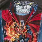 Spawn: reproduction hand painted painting by Patricia Anne McCarty-Tamayo