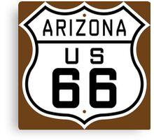 Arizona Route 66 Canvas Print