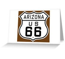 Arizona Route 66 Greeting Card