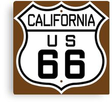 California Route 66 Canvas Print