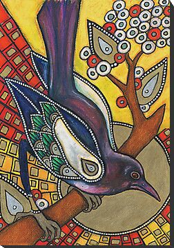 Icon V: The Magpie by Lynnette Shelley