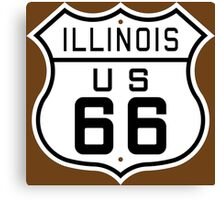 Illinois Route 66 Canvas Print