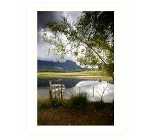 Mount Roland Storm Clouds - Tasmania Art Print