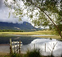 Mount Roland Storm Clouds - Tasmania by Noel Elliot
