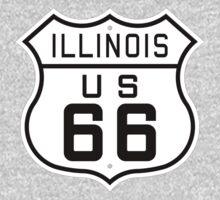 Illinois Route 66 Kids Tee