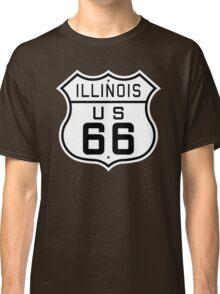 Illinois Route 66 Classic T-Shirt