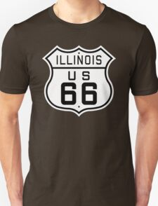 Illinois Route 66 T-Shirt