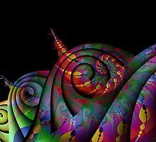 Gypsy Snail Caravan by lacitrouille