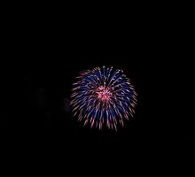 1st Time Fireworks by Richard Williams