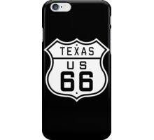 Texas Route 66 iPhone Case/Skin