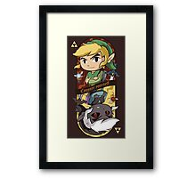 CONQUER YOURSELF Framed Print