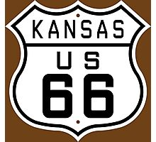 Kansas Route 66 Photographic Print