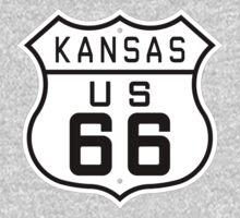 Kansas Route 66 One Piece - Short Sleeve