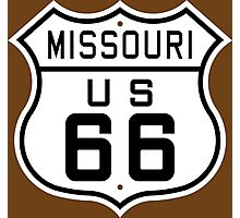 Missouri Route 66 Photographic Print