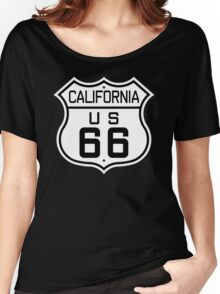 California Route 66 Women's Relaxed Fit T-Shirt