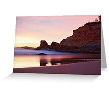 a beautiful pink to greet the day Greeting Card