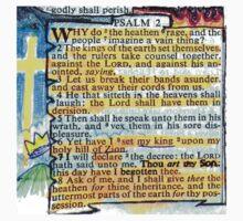 PSALM 2 - THOU ART MY SON Kids Tee
