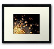 'Fragments of Illusions' Framed Print
