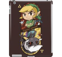 CONQUER YOURSELF iPad Case/Skin