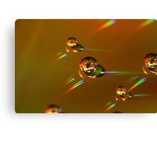 Coke Bubbles Canvas Print