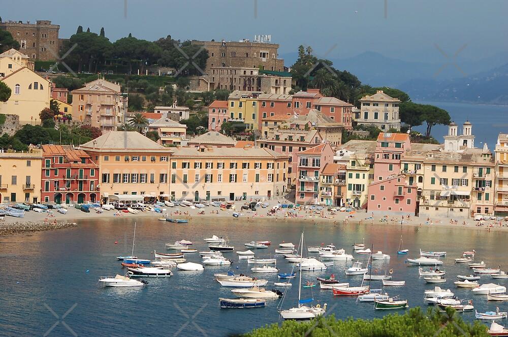 Italy Sestri Levante waters by loiteke