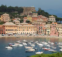 Italy Sestri Levante waters by Meeli Sonn
