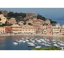 Italy Sestri Levante waters Photographic Print