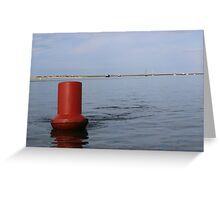 Blakeney Bouy Greeting Card